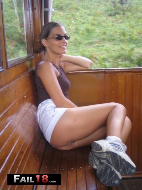 Hang on, let me sit on my legs so you can?t see that I?m not wea