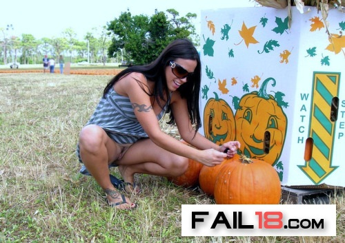You?ve got to really get down there and inspect those pumpkins?