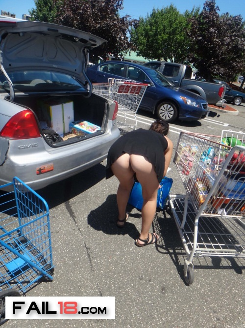 I wonder if she had panties on her shopping list.