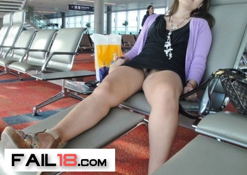 It?s one thing to relax before your flight?but not TOO relaxed,