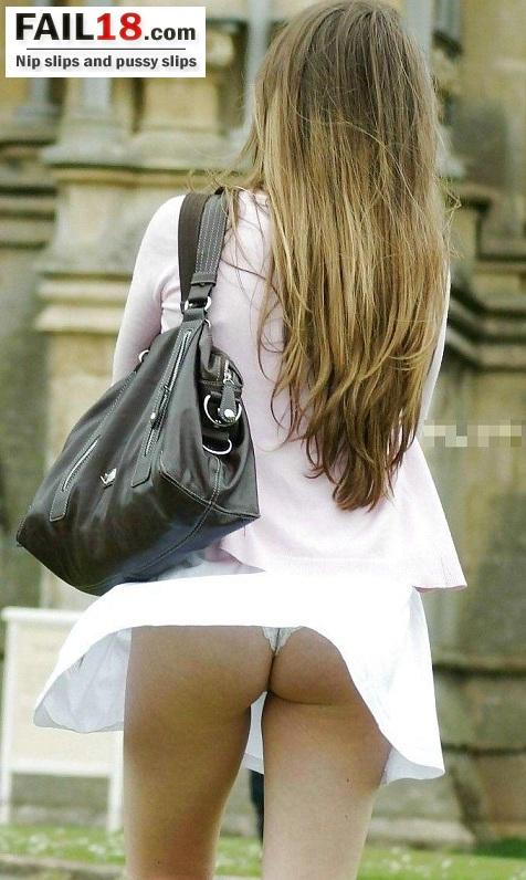 Подглядывание под юбку